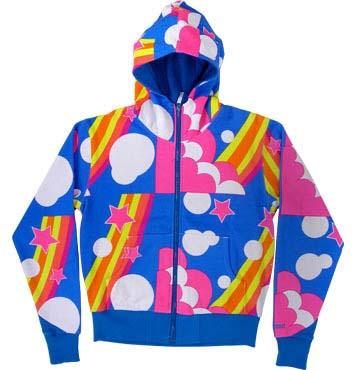 Rainbow Kidrobot hoodie