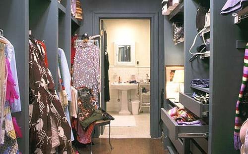 Carrie Bradshaw's famous closet