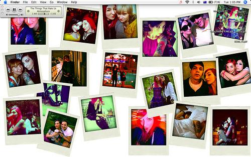 Gala's desktop