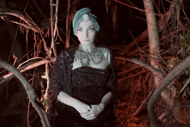 Gala Darling in the woods, photo by Shae Acopian Detar